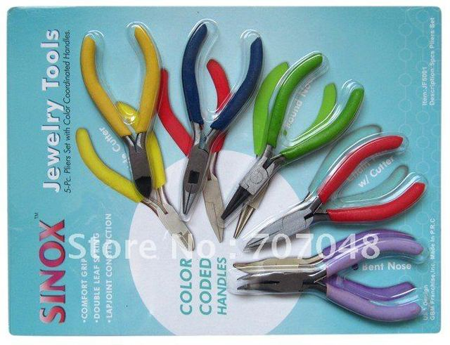 wholesale free shipping 5 sets of pliers diy hand clamp mini home electronic circuit
