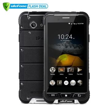Ulefone Armor teléfono móvil 4,7 pulgadas HD MTK6753 Octa Core Android 6,0 3 GB RAM 32 GB ROM 13MP OTA 4G impermeable IP68 teléfono móvil