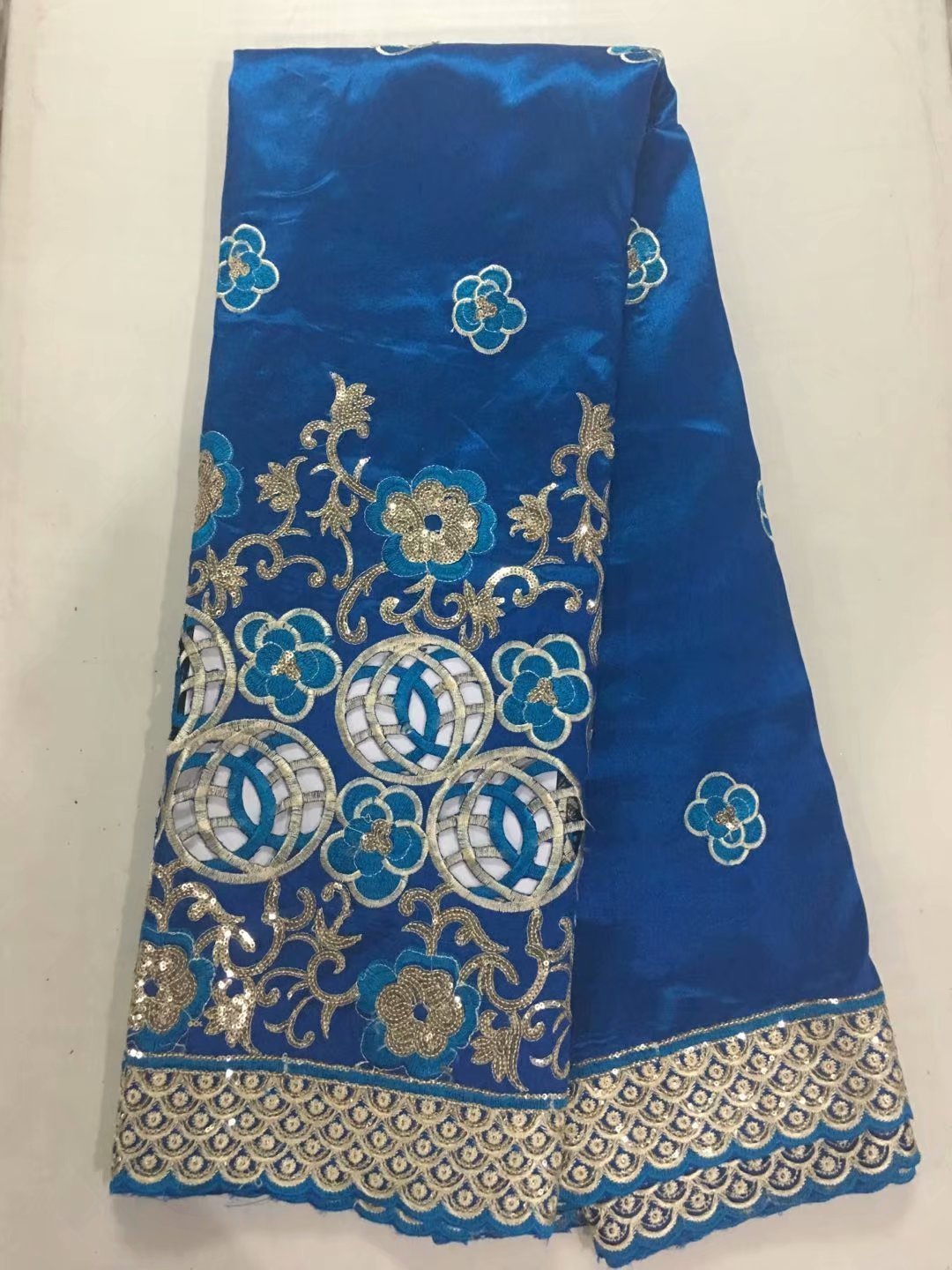 high class hole design george lace fabric indian george wrappers african raw silk george lace fabric Hollow out