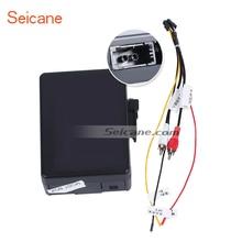 Seicane автомобильный оптоволоконный декодер для 2003-2012 Porsche Cayenne Most Box Bose Harmon Kardon цифровой аудио преобразователь усилителя