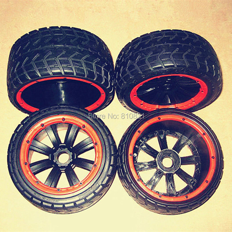 MadMax Top Quality Road Tarmac Tire Wheel Sets For HPI KM BAJA LOSI Desert Buggy Strong
