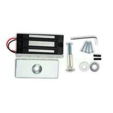 60KG/132lb Electric Magnetic Lock Fail Secure DC 12V electric EM mini locks/wardrobe locks for Door Entry Access Control System