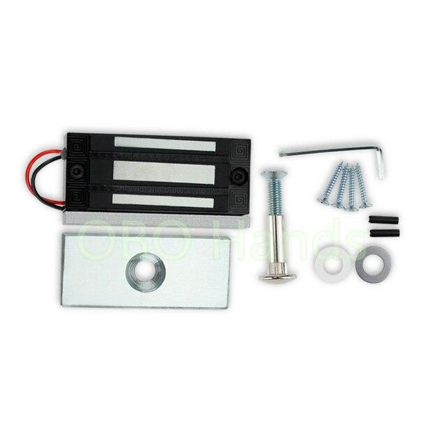 60kg132lb Electric Magnetic Lock Fail Secure Dc 12v Electric Em