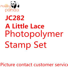 JC282 LACE Metal Cutting Dies and stamps DIY Scrapbooking Card Stencil Paper Craft Wedding Decor(China)