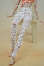 High Quality Handmade Lace Bottoms Pants Trousers For Barbie Doll Clothes Fashion Outfit For 1/6 Dolls