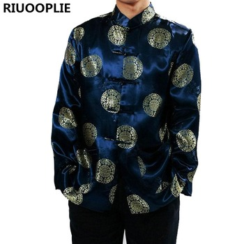 Hot List Produkt RIUOOPLIE Chinesische Kleidung für Männer Top Tang ...