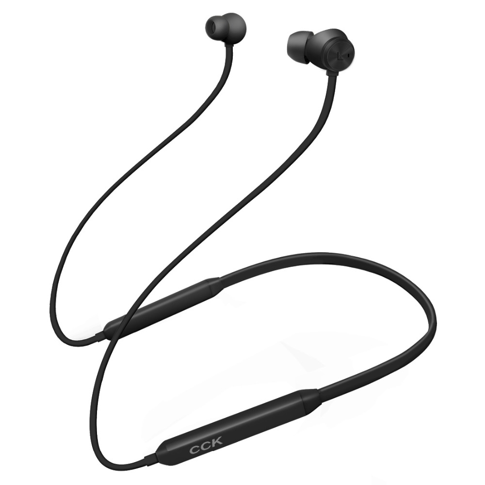 CCK Active Noise Cancelling Sports Bluetooth Earphone Wireless Headset for phones and music phones