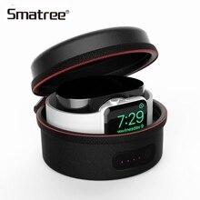 Smatree зарядки для Apple Watch защитная сумка Зарядное устройство чехол для Apple Watch Series 4 3 2 1 черный/белый