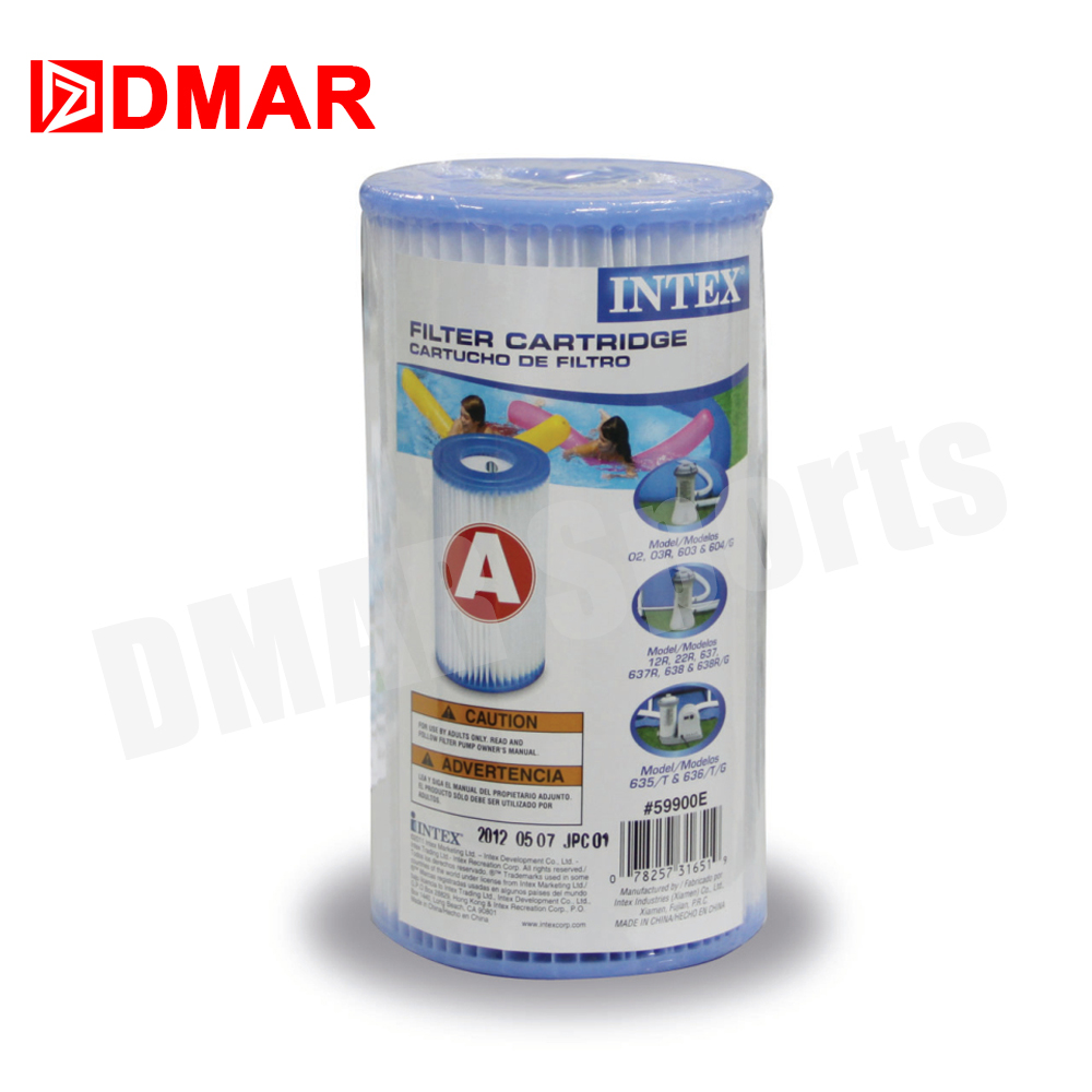 Intex swimming pool spa water filter cartridge type a 29000 special purpose cleaner element bathing