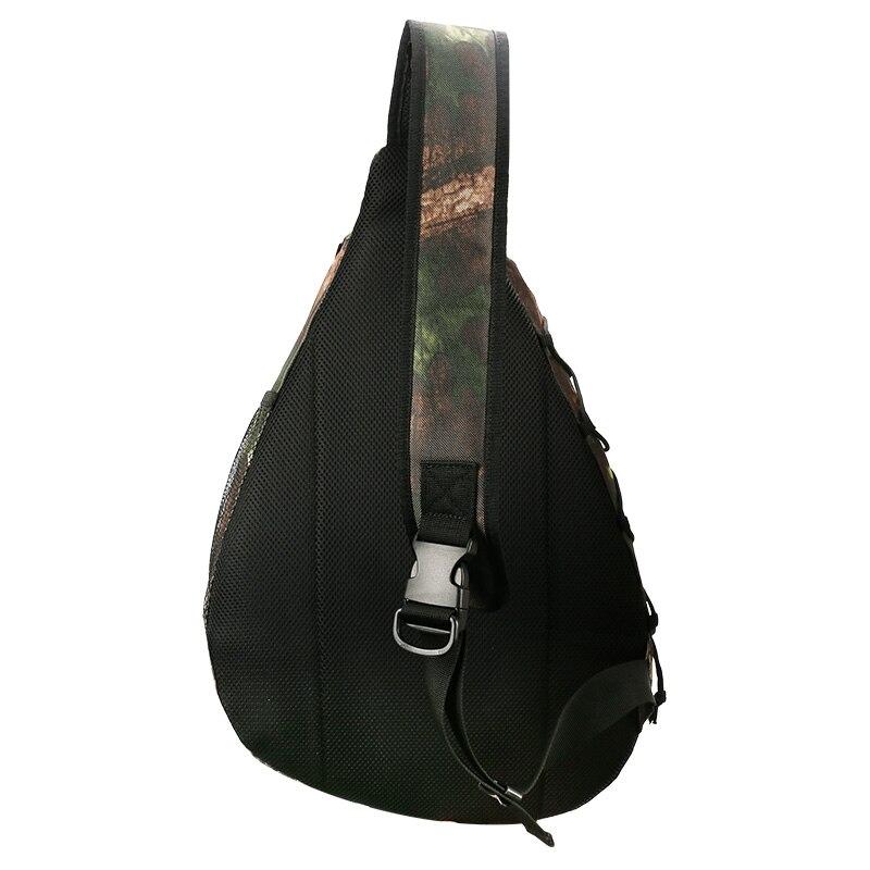 Image 5 - TSURINOYA Multifunctional Fishing Bag Waterproof Shoulder Fishing Bag Large Capacity Bolsa Back Breathable Fishing Tackle Bags-in Fishing Bags from Sports & Entertainment