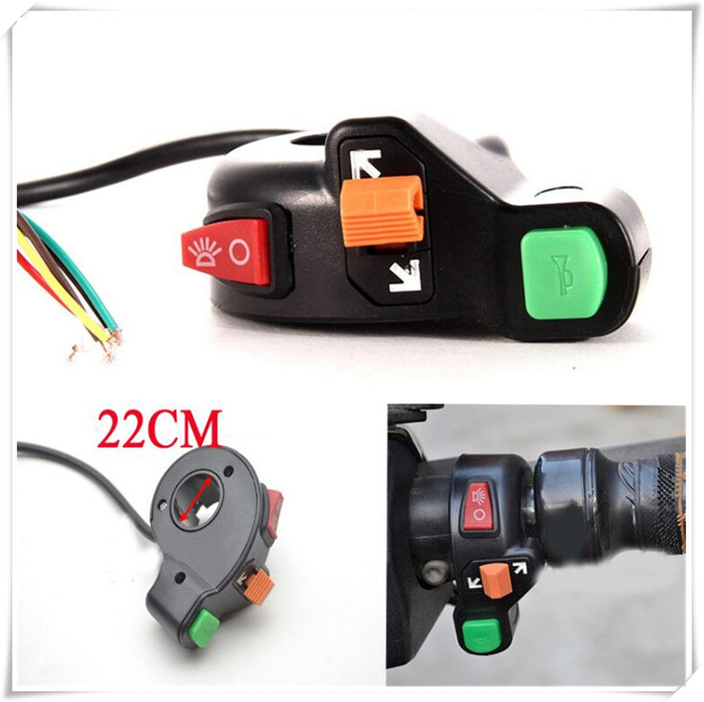 Universal Motorcycle Scooter Auto Headlights Turn Signal Light On Cbr600rr Wiring Diagram Off Switch For Honda Cbr929rr Cbr954rr Cb1000r In Switches From