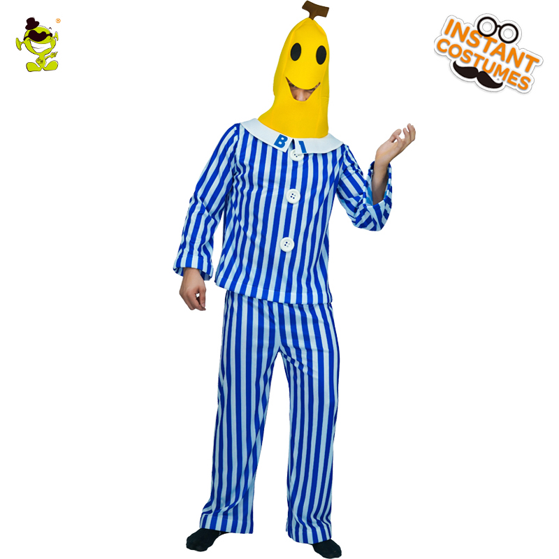 Banana  Funny Party Costume Novelty Halloween Christmas Carnival Party Decorations Food Costumes For Adult Mens
