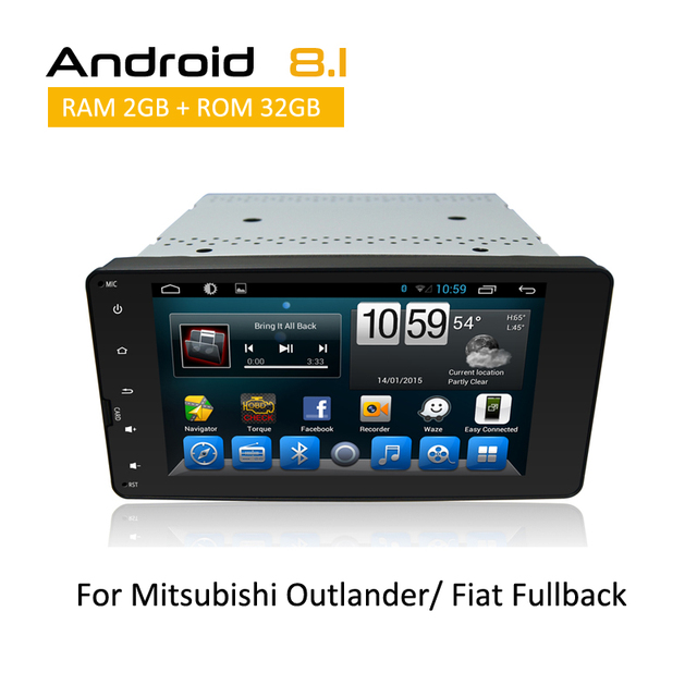 US $356 85 35% OFF|New 7 inch Touch Screen For Mitsubishi Outlander 2013  2014 With GPS Navigation Support Igo Sygic maps Ditital TV AUX Bluetooth-in