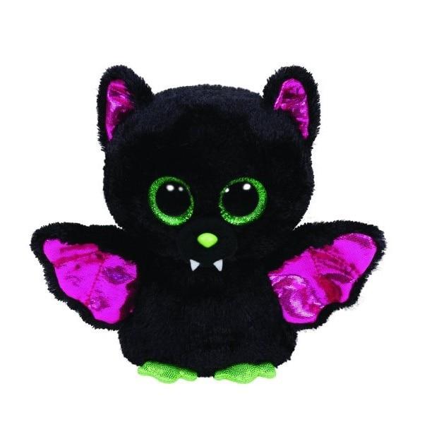 15-18 см Ty Beanie Боос большие глаза l черный Bat TY Плюшевые Игрушки для маленьких дет ...