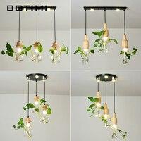 BOTIMI современный E27 подвесные светильники для Обеденная дизайнеры Кулон лампы Декор подвесной светильник DIY освещение заказ приходит Witout за