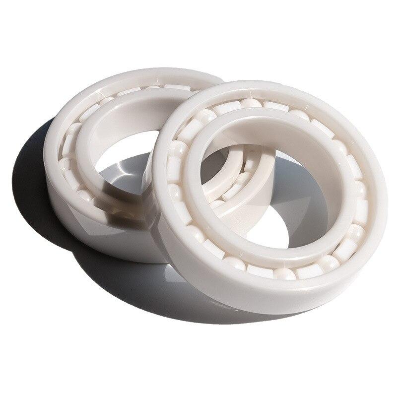 4pcs/10pcs  6702 ZrO2 full Ceramic ball bearing 15x21x4 mm Zirconia ceramic deep groove ball  bearings 15*21*4|bearing case|bearing pulley|bearing 6203 - title=