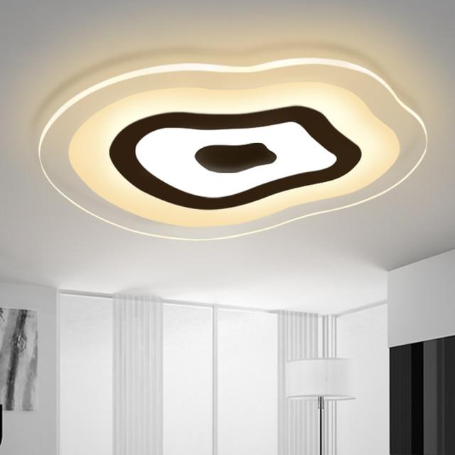 Bon Modern Led Living Room Ceiling Lights Design Acrylic Bedroom Lamp Eclairage  Plafonnier Tavan Aydinlatma Light Indoor