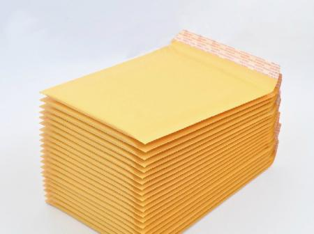 50x 5x7 kraft bubble envelopes padded mailers shipping self seal