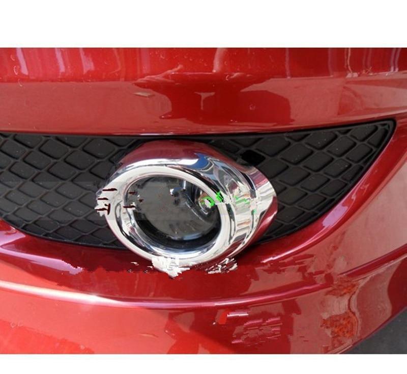 Prix pour Voiture-couvre abs chrome antibrouillard avant lumière couvercle de la lampe garniture pour mitsubishi lancer 2008 2009 2010 2011 2012 2013 car styling