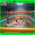12*6*1.5m high quality Inflatable Volleyball Field,0.9 mm pvc Inflatable Water Sports Games , Inflatable Beach Volleyball Court