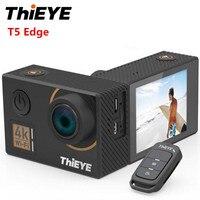 ThiEYE T5 край действие Камера Ambarella A12 14MP родной 4 К Wi Fi 2 дюймов TFT ЖК дисплей Экран 1080 P спортивные голос Управление удаленного Управление