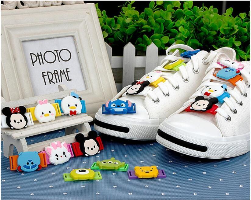 Schuhzubehör UnermüDlich 10 Teile/los Schöne Cartoon Schuhe Dekoration Für Kinder Mädchen Muster Beiläufige Schuhe Dekoration Zufällige F1012 SchöNe Lustre Schuh-dekorationen