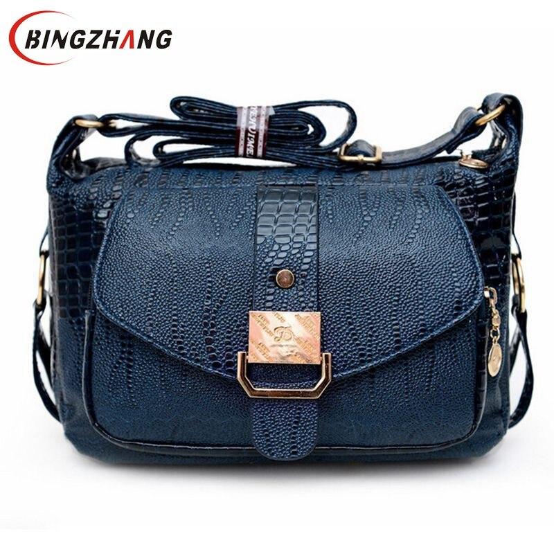 women messenger bags leather handbag mid-age models shoulder bag crossbody for women mom handbags high quality bag L4-1390 patent leather handbag shoulder bag for women