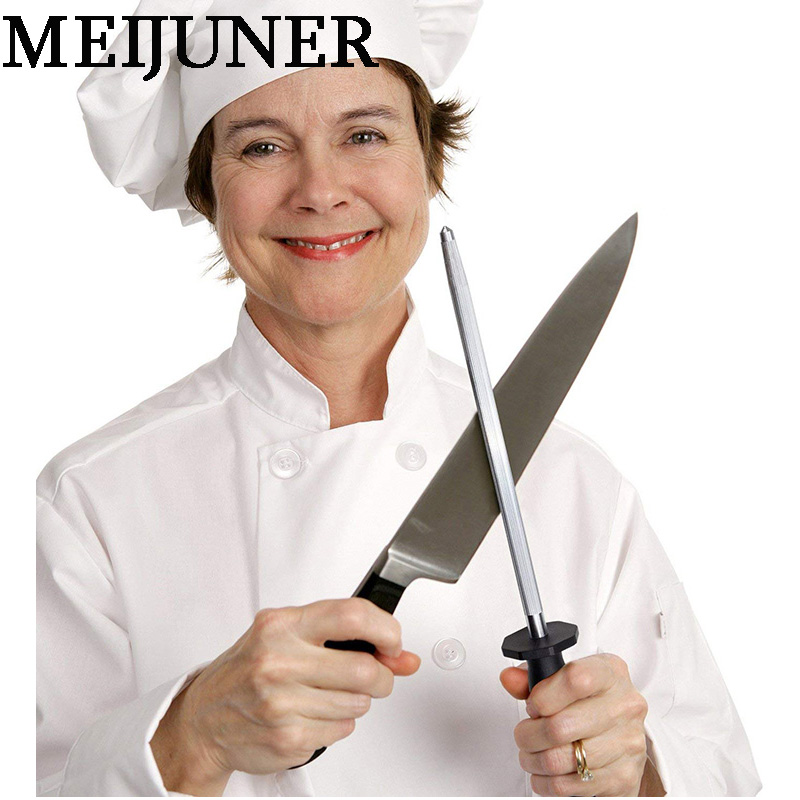 Meijuner кухонная точилка для ножей, стержень для заточки, точильный стержень, домашний нож, шлифовальная машина с крючком, бытовой кухонный инс...