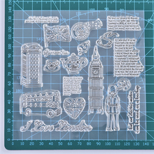 YaMinSanNiO Building Clear Stamps Scrapbooking Album Card Making Embossing Craft Silicone Transparent Rubber New 2019