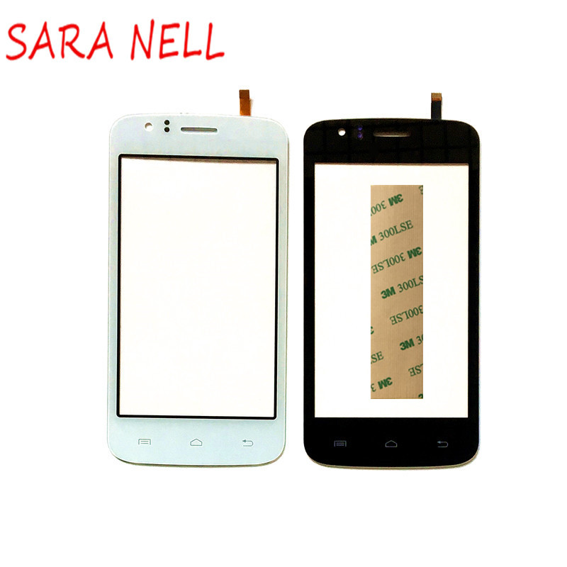 SARA NELL phone Touch Sensor For Explay Atom Touch Screen Digitizer For Explay Atom Mobile Phone Touch Panel Glas+Tape