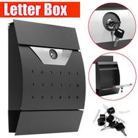 Modern Wall Mail Box Letter Box Post Box Newspaper Holder