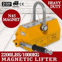 1000kg portable permanent magnetic crane metal lifting tool steel sheet magnet lifter