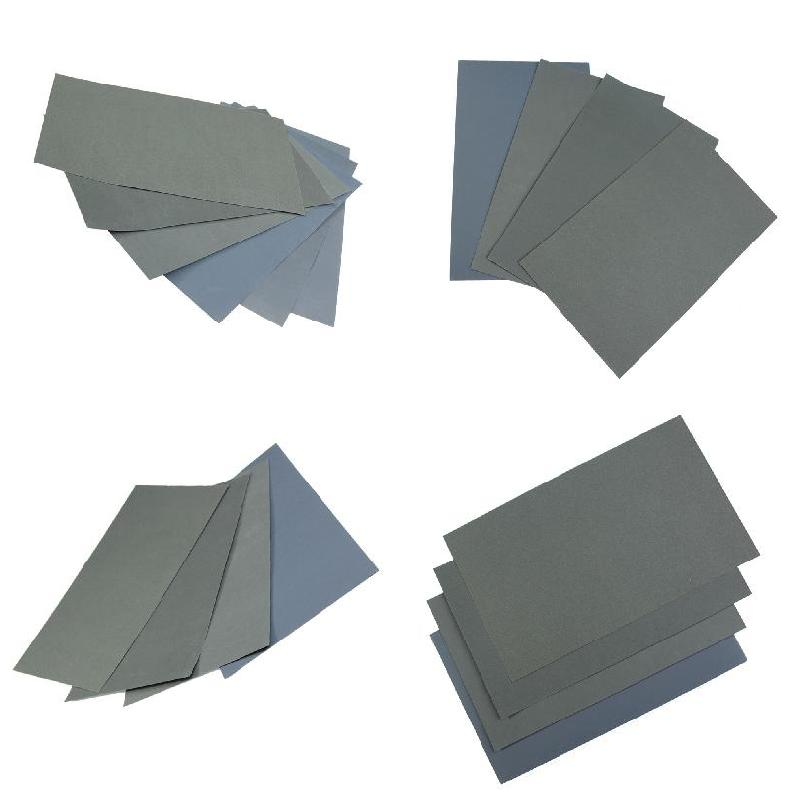 6 Pcs/Set Sand Paper Waterproof Abrasive Papers P600/1000/1200/1500/2000/2500 HVR88