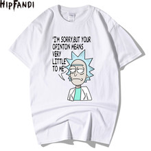 HIPFANDI Men's T-Shirts Rick and Morty Homme Summer Short Sleeve Men T Shirts Male T Shirt