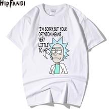 HIPFANDI Men's T-Shirts Rick and Morty H