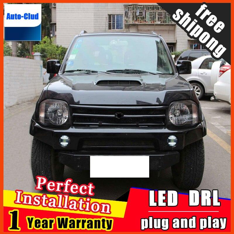 Phare antibrouillard LED pour Suzuki Grand Vitara LED avec lentille et LED lumière de jour pour voiture 2 fonction