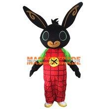 Маскарадный костюм кролика Бинг; нарядное платье; Рождественский костюм для костюмированной вечеринки на Хэллоуин; вечерние костюмы