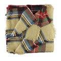 Sali 2015 Hot Wool Blend Blanket Oversized Tartan Scarf Wrap Shawl Plaid Checked Pashmina
