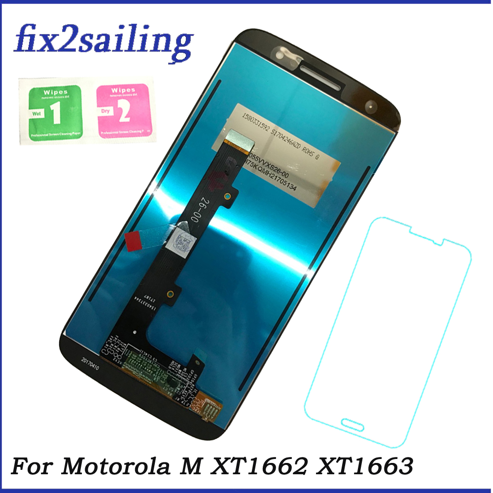 LCD For Motorola Moto M XT1662 XT1663 LCD Display Touch Screen Digitizer Assembly For MOTO M phone DisplayLCD For Motorola Moto M XT1662 XT1663 LCD Display Touch Screen Digitizer Assembly For MOTO M phone Display
