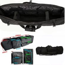 M249 Gun Bag Hunting Rifle Case Tactical Nylon Holster Military Airsoft Protection Carrying Outdoor Backpack
