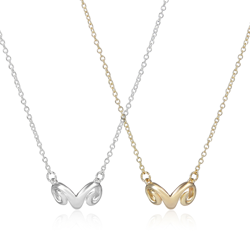 Online Shop Oly2u 2017 New Gold Simple Dainty Necklace Girls ...
