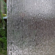 90 x 300 cm Window foil Film Rain Static Cling Frosted Glass film Sticker Privacy decorative vinyl Self-Adhesive furniture