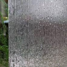 90 x 300 cm Window foil Film Rain Static Cling Frosted Glass film Sticker Privacy decorative vinyl Self-Adhesive furniture film цена 2017