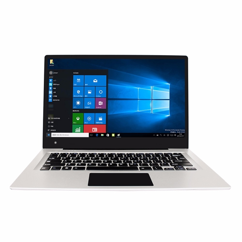 14 inch Jumper EZbook 3 Laptop Intel Apollo Lake N3350 Dual Core 4GB RAM 64GB ROM Windows 10 OS HDMI 1920 x 1080 10000mAh