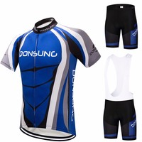 DONSUNG Short Sleeve Cycling Jersey 2017 Pro Team Sets Specialized Bicycle Cycle Clothing Maillot Racing Bike