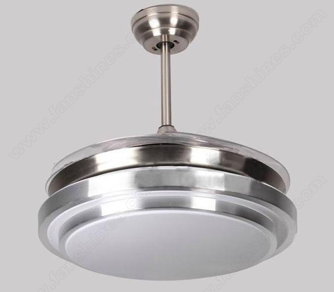 42 Inch Retractable Blade Ceiling Fan Automatic Closure