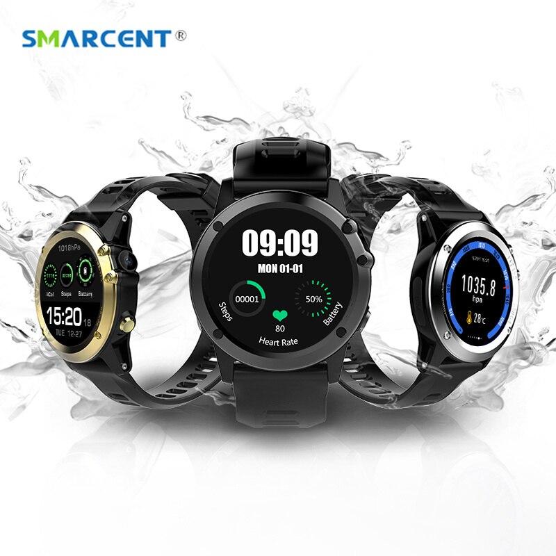 imágenes para H1 Reloj Inteligente MTK6572 IP68 Impermeable GPS Wifi 3G Corazón tasa de 4 GB + 512 MB Cámara smartwatch Para Android IOS 500 1.39 pulgadas 400*400