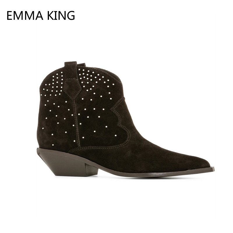 Femmes Taille La Chunky Picture 43 Dames Coudre Plus Martin Rond Chelsea 35 Cristal As Picture Chaussures 2018 Pour as Bottes Cm Automne Cheville Mode Bout zXdwdSqn5