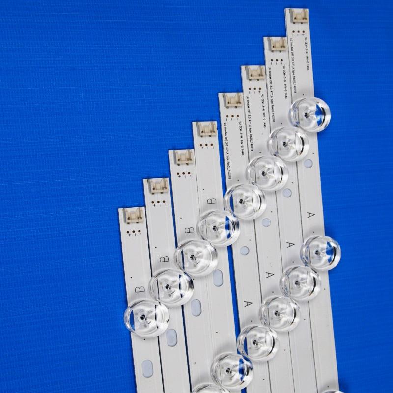 8 Piece/Set LED Backlight Strip For LG 47LB570B 47LB5700 47LB570U 47LB570V -ZB -ZQ -ZF 47 Inch TV Backlight LED Bands Bars Lamps