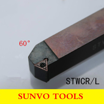 STWCR/STWCL 2020K11/2020K16 Use Carbide Insert TCGT TCMT 110204/110208160404/160408 External Turning Tools Holder S-Type image